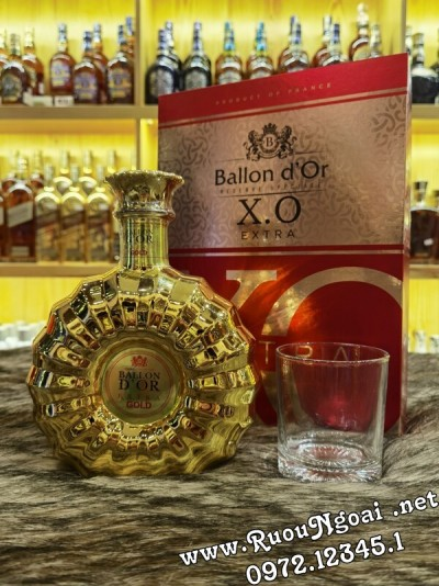 Rượu Ballon D'or Gold XO Extra