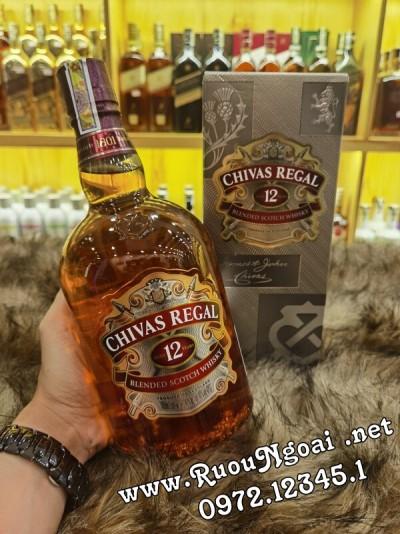 Rượu Chivas 12YO - 1000ml