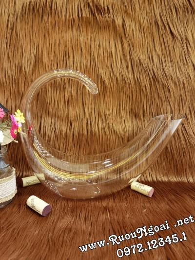 Bình Đựng Rượu Vang - Decanter Dáng Đẹp M04