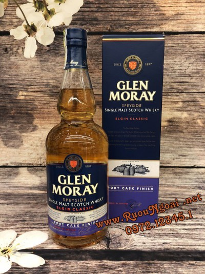 Rượu Glen Moray Port Cask Finish