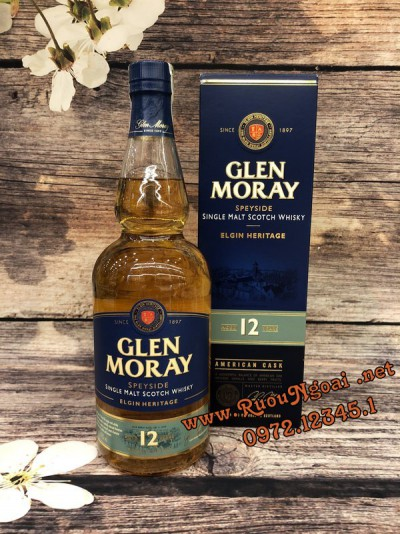 Rượu Glen Moray 12YO