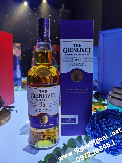Rượu Glenlivet Captain's Reserve