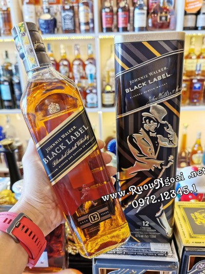 Rượu JW Black Label - Hộp Quà 2020