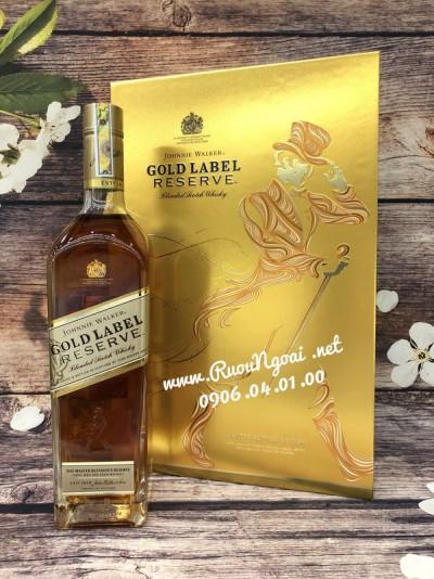 Rượu JW Gold Label - Hộp Quà 2019