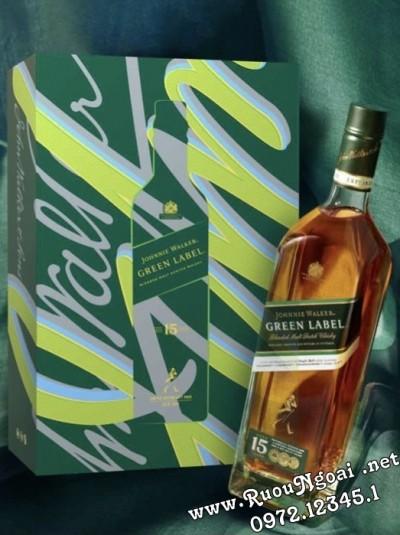 Rượu Johnnie Walker Green Hộp Quà Tết 2022