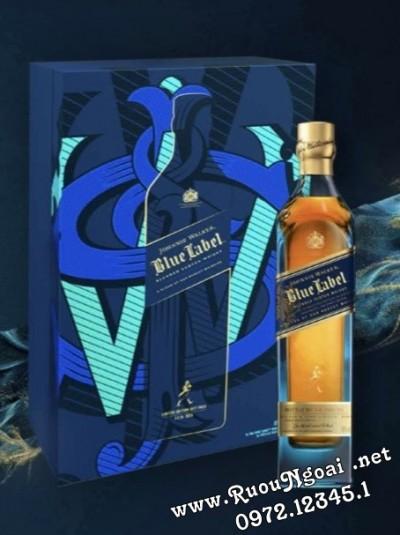 Rượu Johnnie Walker Blue Label Hộp Quà Tết 2022