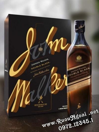 Rượu Johnnie Walker Double Black Hộp Quà Tết 2022