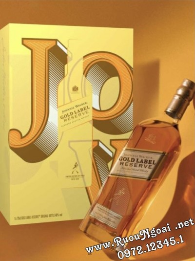 Rượu Johnnie Walker Gold Label Reserve Hộp Quà Tết 2022