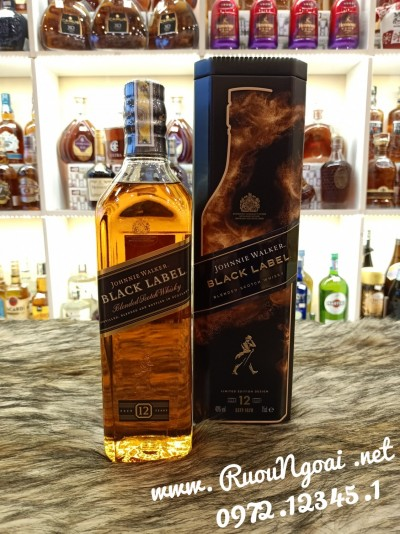 Rượu Johnnie Waker Black Label Tết 2021