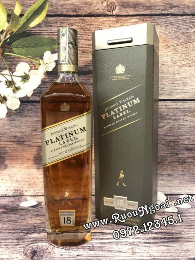 Rượu JW Platinum Label 18YO