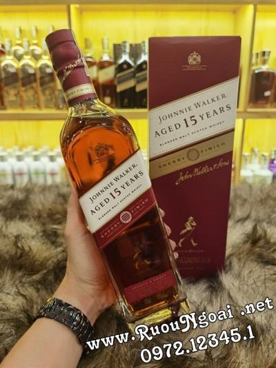 Rượu Johnnie Walker 15 Năm Sherry