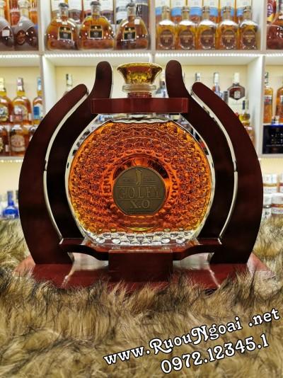 Kệ Rượu Mạnh Brandy Golfy XO