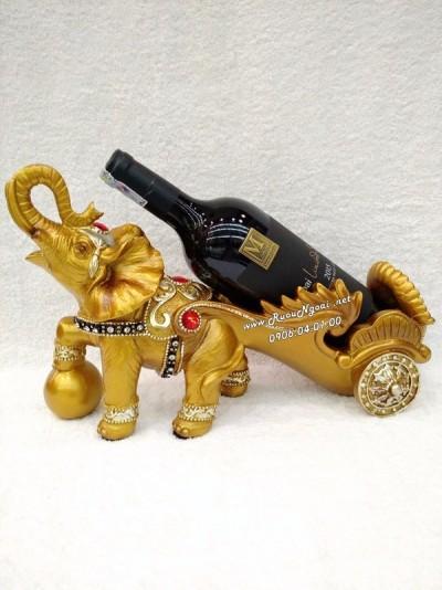 Kệ Rượu Vang Voi Phú Quý