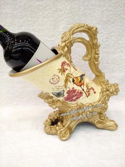 Kệ Rượu Vang Bình Bông
