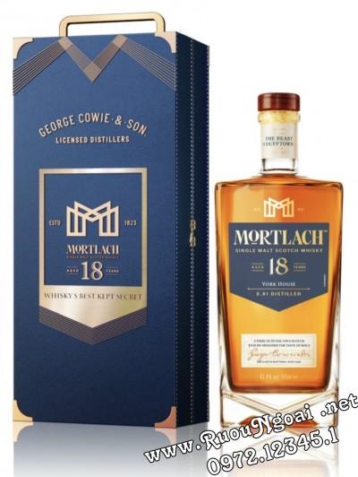 Rượu Mortlach 18 - Hộp Quà Tết 2022