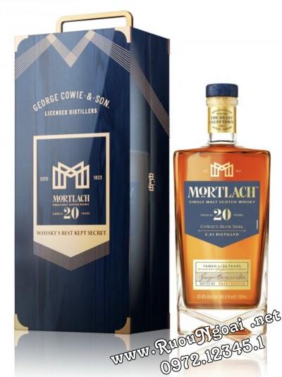 Rượu Mortlach 20 - Hộp Quà Tết 2022