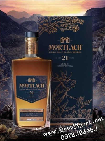 Rượu Mortlach 21 - Special Releases 2020