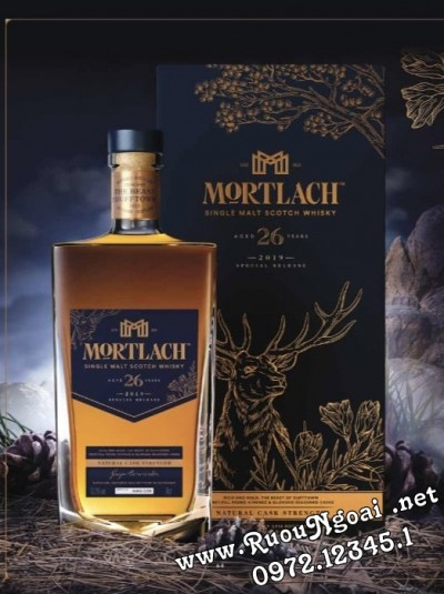 Rượu Mortlach 26 - Special Releases 2019