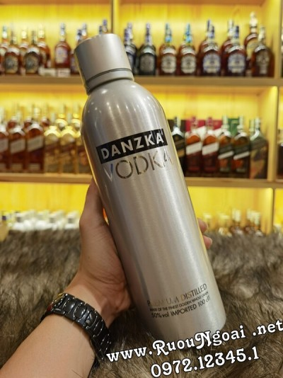 Rượu Vodka Danzka Fifty