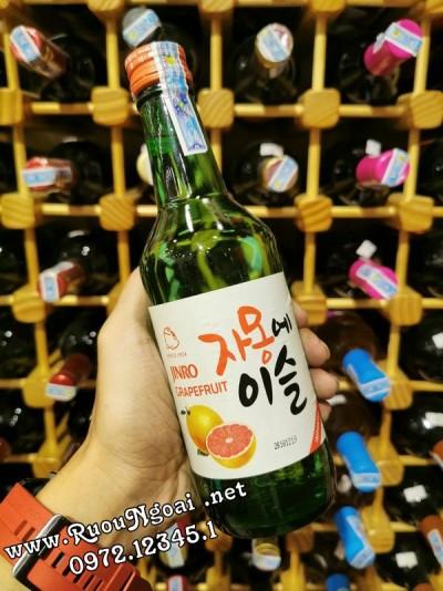 Rượu Soju Jinro Hương Bưởi