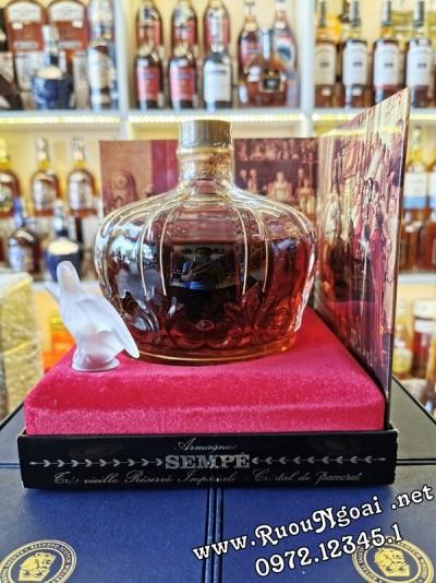 Rượu Sempe Baccarat Armagnac Napoleon