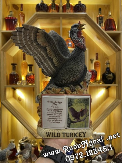 Rượu Wild Turkey Limited Edition Series II No4 Năm 1982