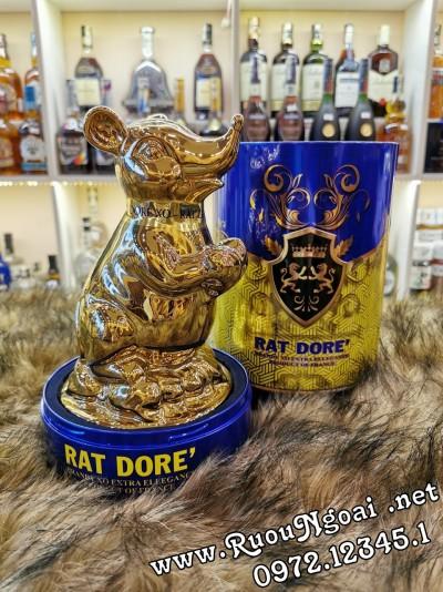 Rượu Phong Thủy Con Chuột Rat Dore Brandy XO Extra
