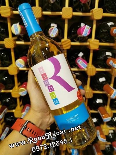 Rượu Vang California Random Moscato