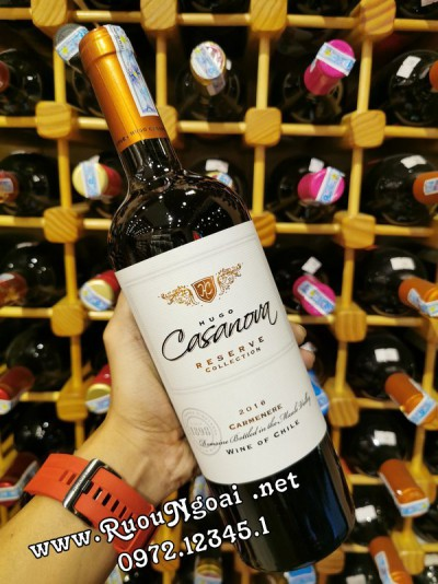 Rượu Vang Hugo Casanova Reserva