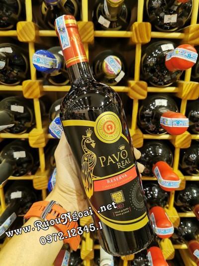 Rượu Vang Pavo Real Reserva Cabernet Sauvignon