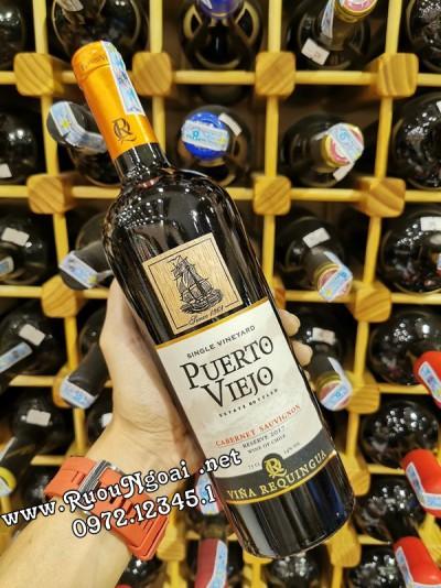 Rượu Vang Puerto Viejo Reserve Cabernet Sauvignon