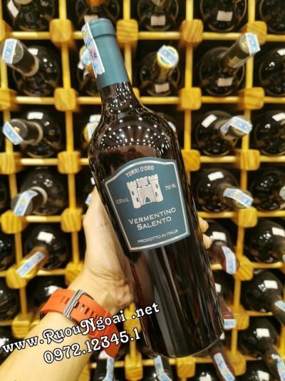 Rượu Vang TORRI D'ORO VERMENTINO SALENTO