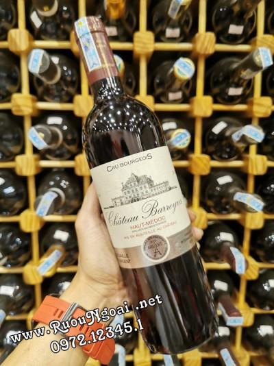 Rượu vang Chateau Barreyre