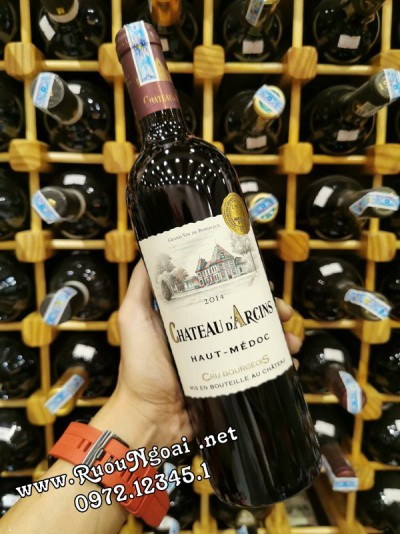 Rượu Vang Darcins Bordeaux Chateau