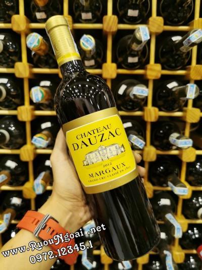 Rượu Vang Chateau DauCazac