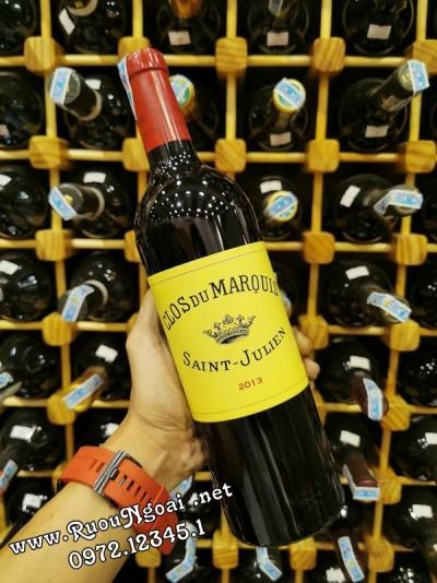 Rượu Vang Clos Du Maroius Saint-Julien