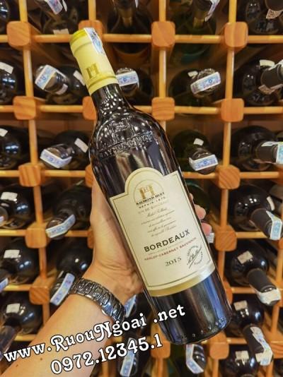 Rượu Vang Pháp Raymond Hurt Bordeaux Merlot-Cabernet Sauvignon