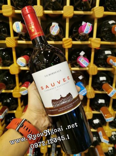 Rượu vang Bordeaux Sauvee Cabernet Sauvignon