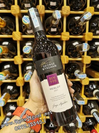 Rượu Vang Wyndham Bin 999 Merlot
