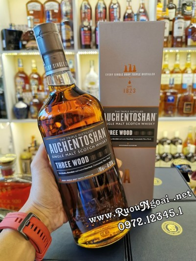 Rượu Whisky Auchentoshan Three Wood