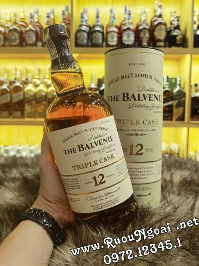 Rượu Balvenie 12 Năm Triple Cask 1000ml