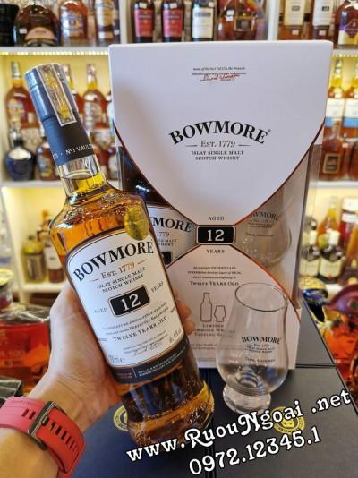 Rượu Bowmore 12YO - Hộp Quà