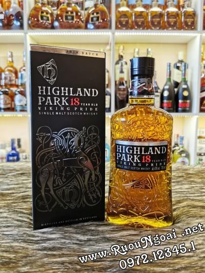 Rượu Whisky Highland Park 18YO