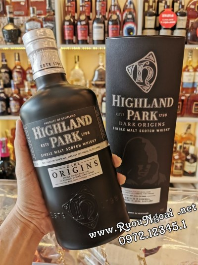 Rượu Whisky Highland Park Dark Origins