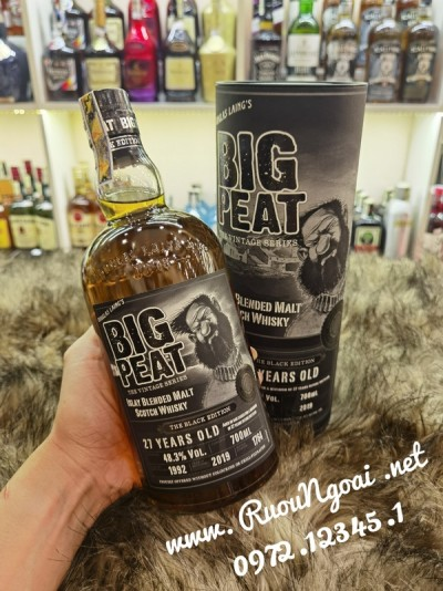Rượu Big Peat 27 Years Old