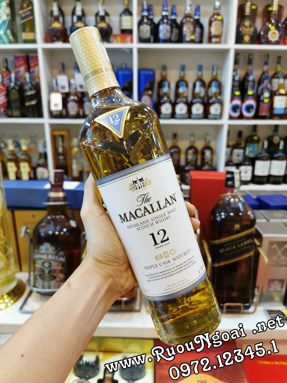 macallan 12yo triple cask 1