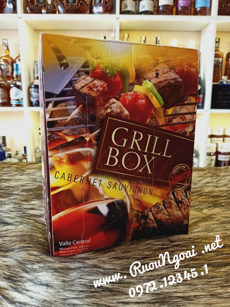 Ruou vang Chile Grill Box